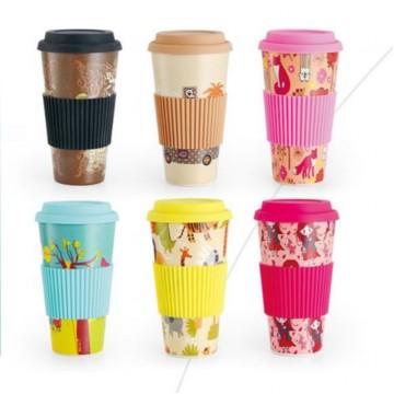 *Bamboo Fiber Coffee Cup | 竹纤维咖啡杯*
