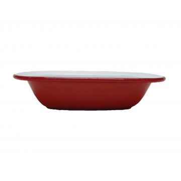 |FALCON| Pie Dish [Pillarbox Red]