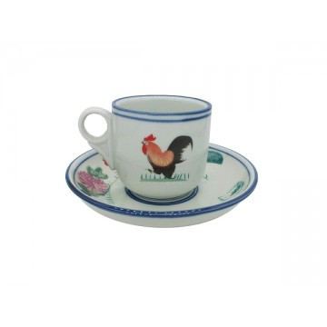 |Rooster| Coffee Cup Set